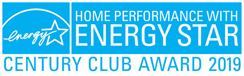 Home Performance with Energy Star Century Club Award 2019 Winner